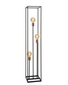 ARTHUR Vloerlamp 3xE27 Zwart