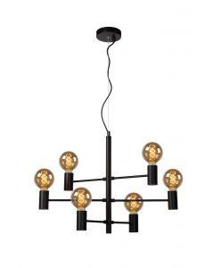 LEANNE Hanglamp 6xE27 Zwart