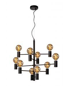 LEANNE Hanglamp Ø 65 cm 10xE27 Zwart