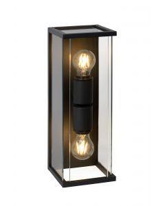 CLAIRE Wandlamp Buiten 2xE27 IP54 Antraciet
