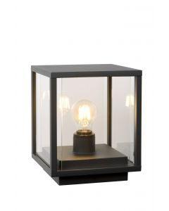 CLAIRE Sokkellamp Buiten 1xE27 IP54 Antraciet