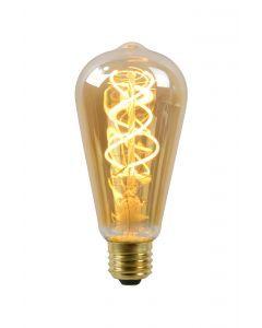 LED BULB Filament Ø 6,4 cm LED Dimb. E27 1x5W 2200K Amber