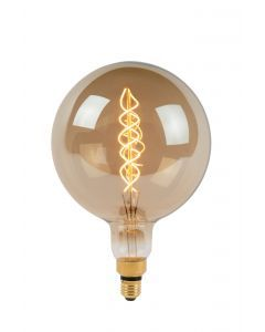 GIANT BULB Filament lamp LED Dimb. E27 1x8W 2200K Fumé