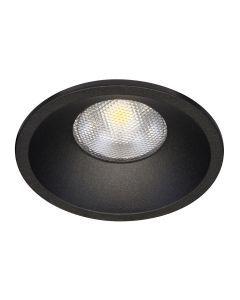 LED-inbouwarmatuur BR0002 Rond GU10 Zwart