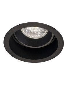 LED-inbouwarmatuur BR0004 Rond verdiept GU10 Zwart
