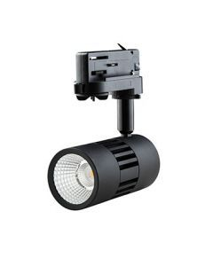 LED ColourPunch spot zwart 7,5W 36° Reflector 3.000K CRI>90