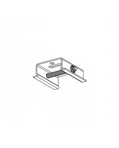 SKB 10 Railbeugel plafond snelmontage - Zwart