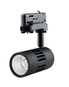 LED ColourPunch spot zwart 12,5W 36° Reflector 3.000K CRI>90