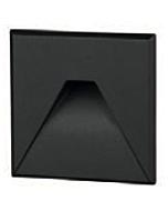 Cover vierkant met design gat t.b.v. BW0010 Zwart